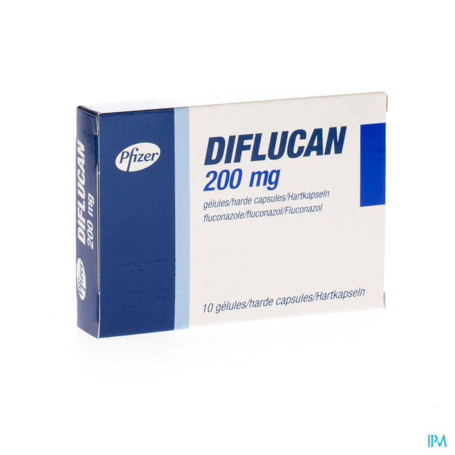 Diflucan Caps 10x200mg