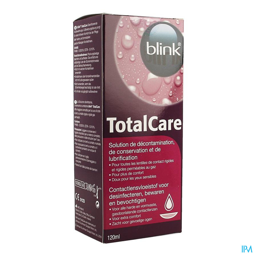 Totalcare Desinfect. Solution 120ml 2615