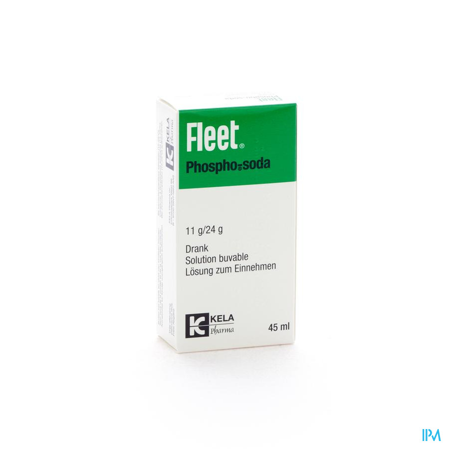 Fleet Phospho Soda 45ml Sol Oral Cfr 3391331