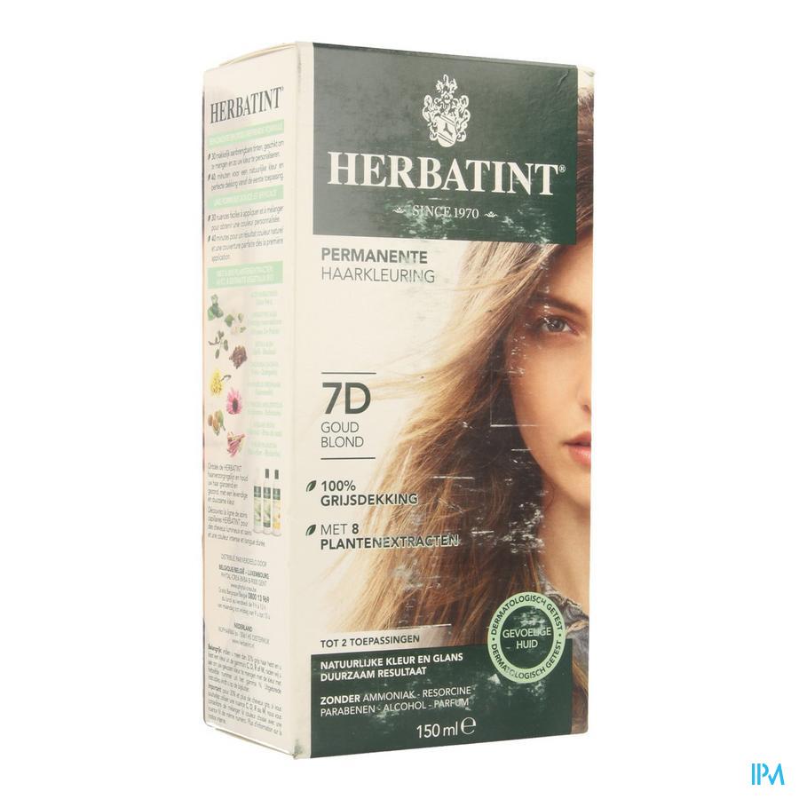 Herbatint Blond Goudkleurig 7d