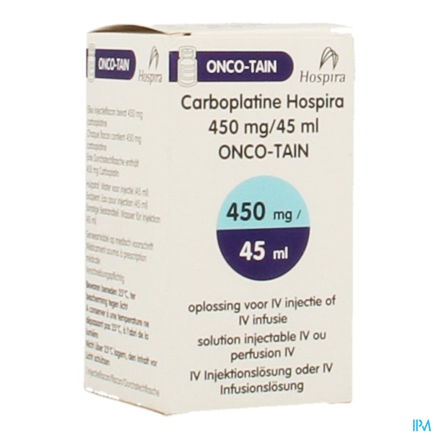 Carboplatine Onco Tain Iv Perf 1x45ml 10mg/ml