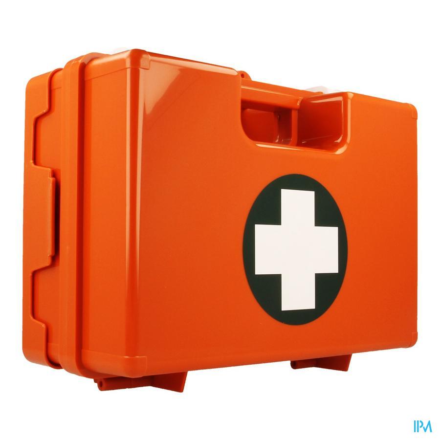 Boite Secours Orange Vide 28,0x20x11,5cm Covarmed