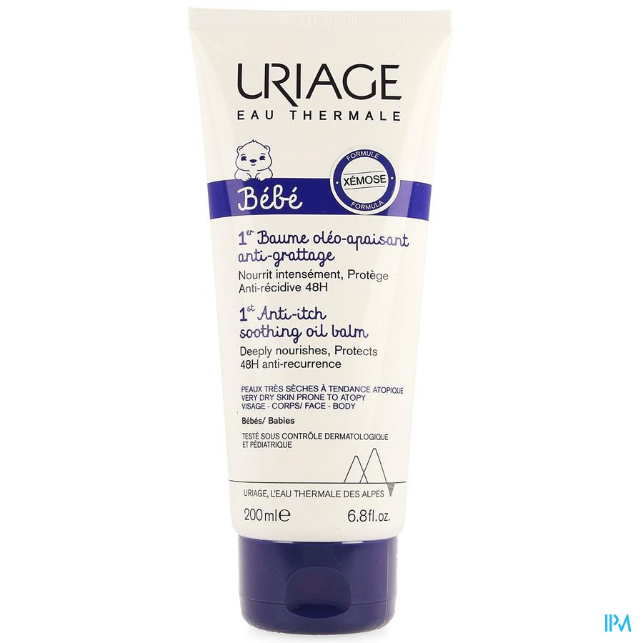 Uriage Bebe 1er Baume Oleo Apaisant A/grat. 200ml