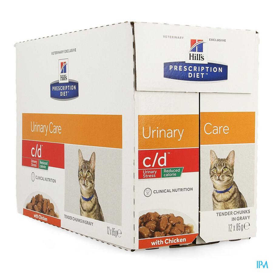 Hills Prescrip.diet Feline Cd Urin.reduc.cal12x85g