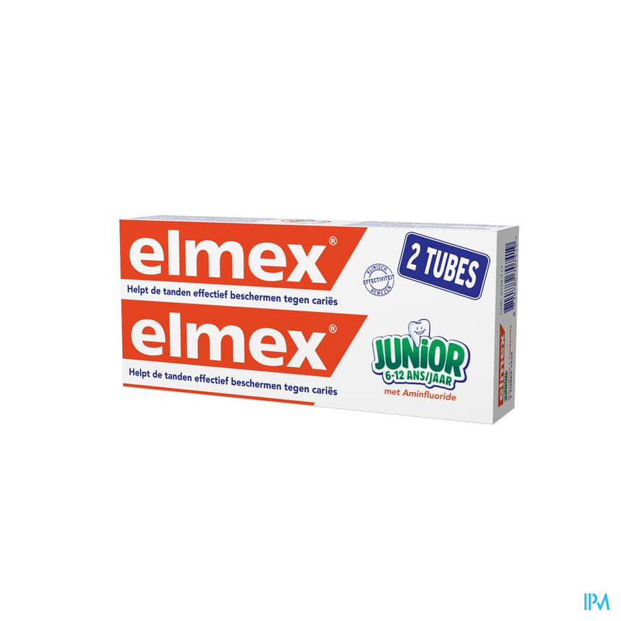 ELMEX® JUNIOR TANDPASTA TUBE 2x75ML