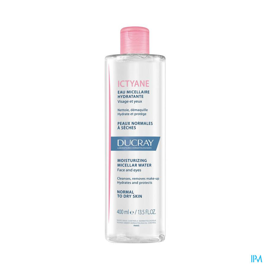 Ducray Ictyane Micellair Water Fl 400ml