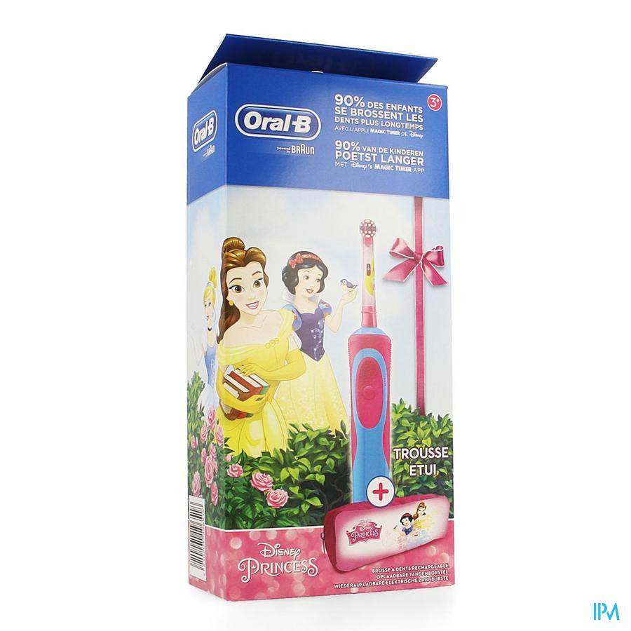 Oral B Brosse Vitality Kids Princess + Case