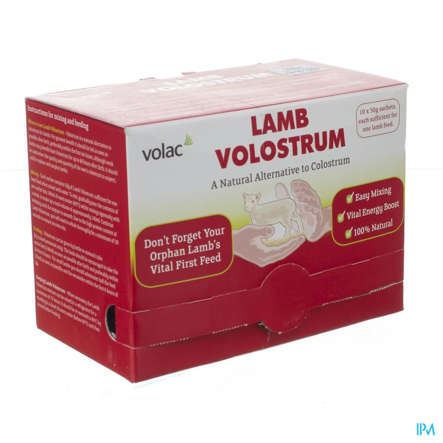 Volostrum Lamb Pdr 10 50g
