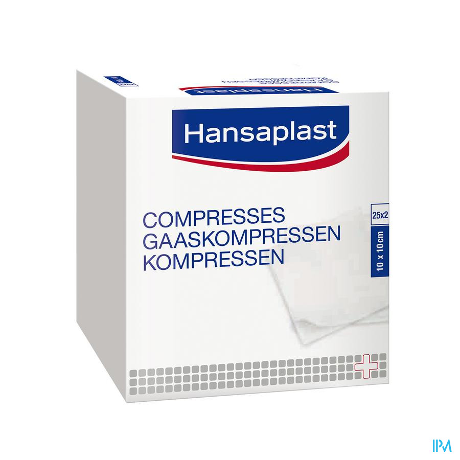 Hansaplast Compresses Douce 50