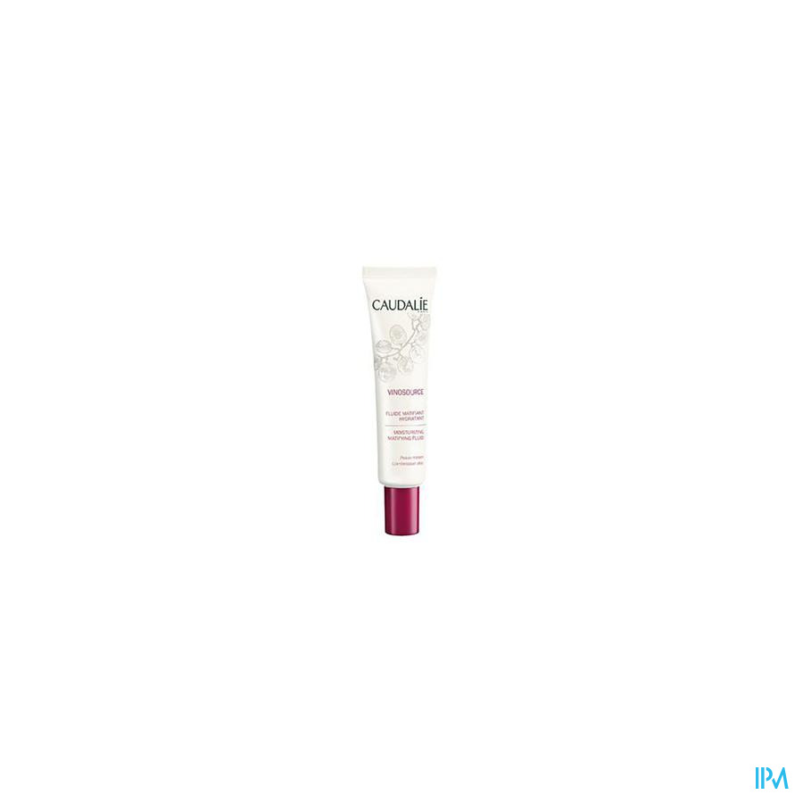Caudalie Vinosource Fluide Matif.hydra Vh Tbe 40ml