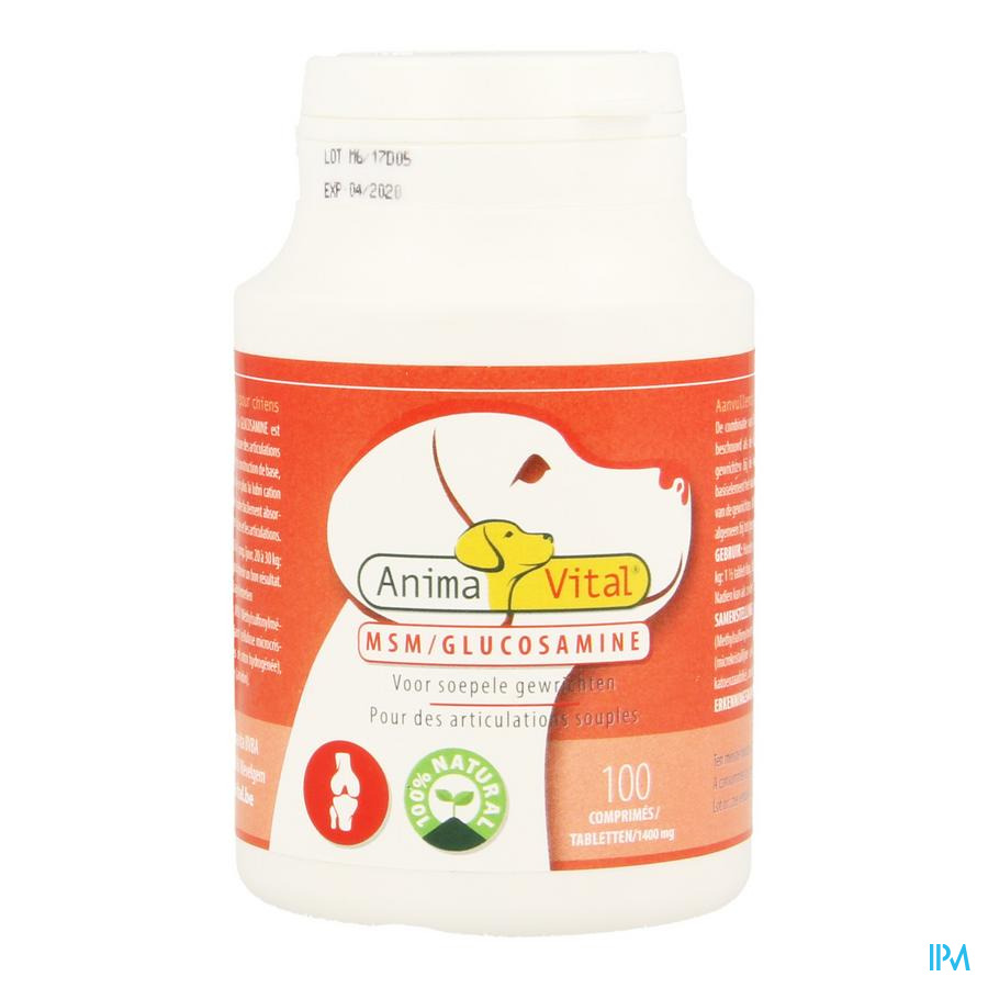 Msm Glucosamine Comp 100