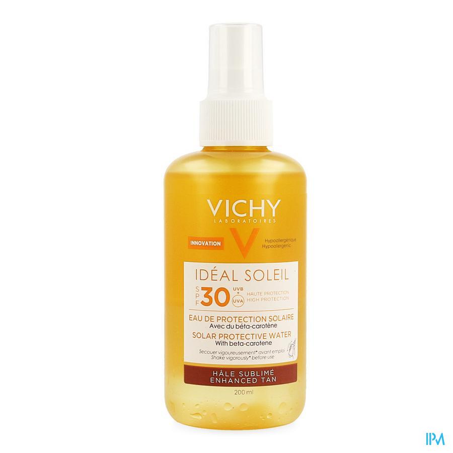 Vichy Ideal Soleil Bescherm.water Bronz Ip30 200ml