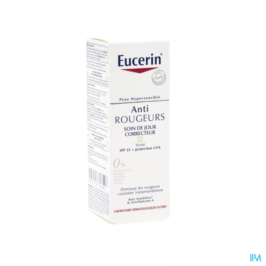 Eucerin Anti Redness Corrig. Gezichtverz.ip25 50ml