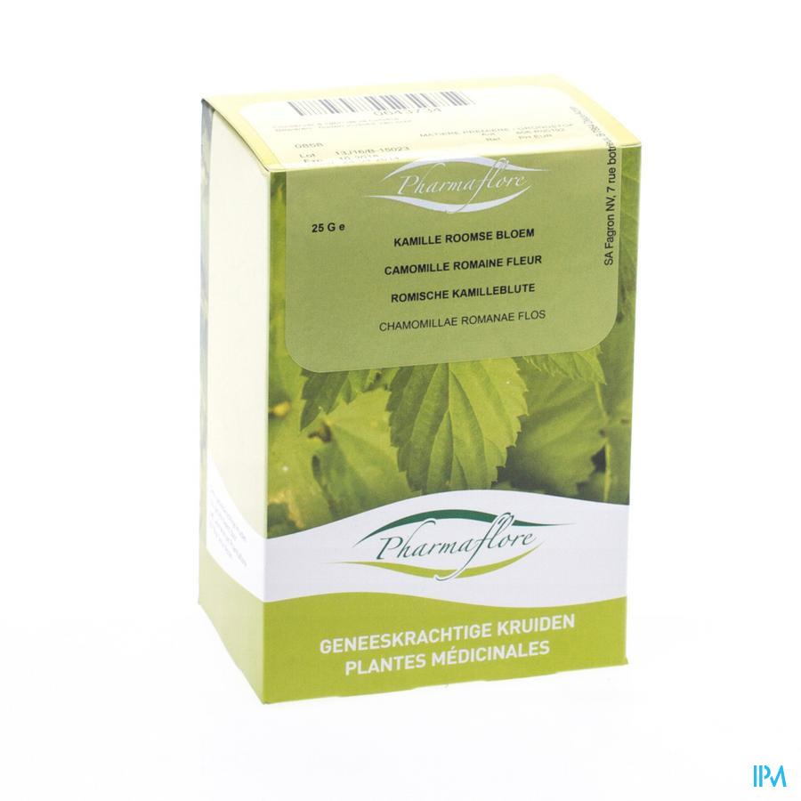 Kamillebloem Roomse Doos 25g Pharmafl