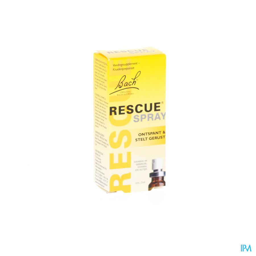 Bach Rescue Spray 7ml  -  Ts Reform
