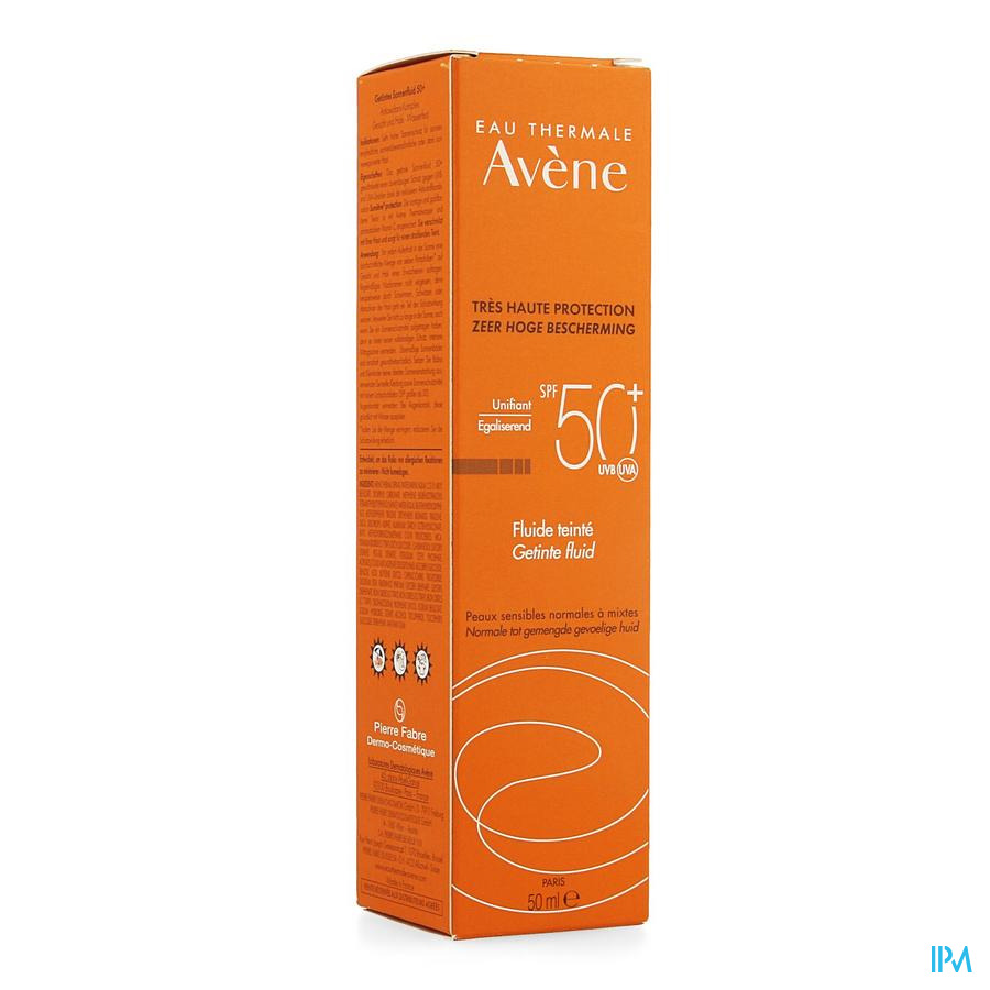 Avene Fluide Teinte Ip50+ 50ml