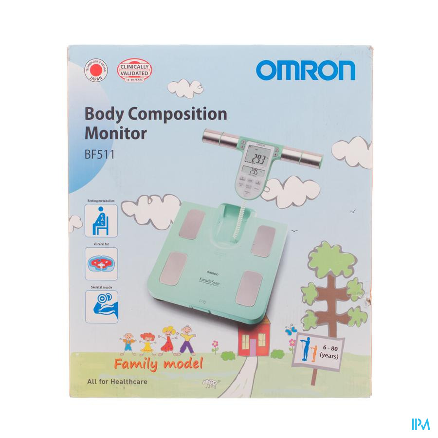 Omron Bf511t Turqoise Moniteur Constit.corp.