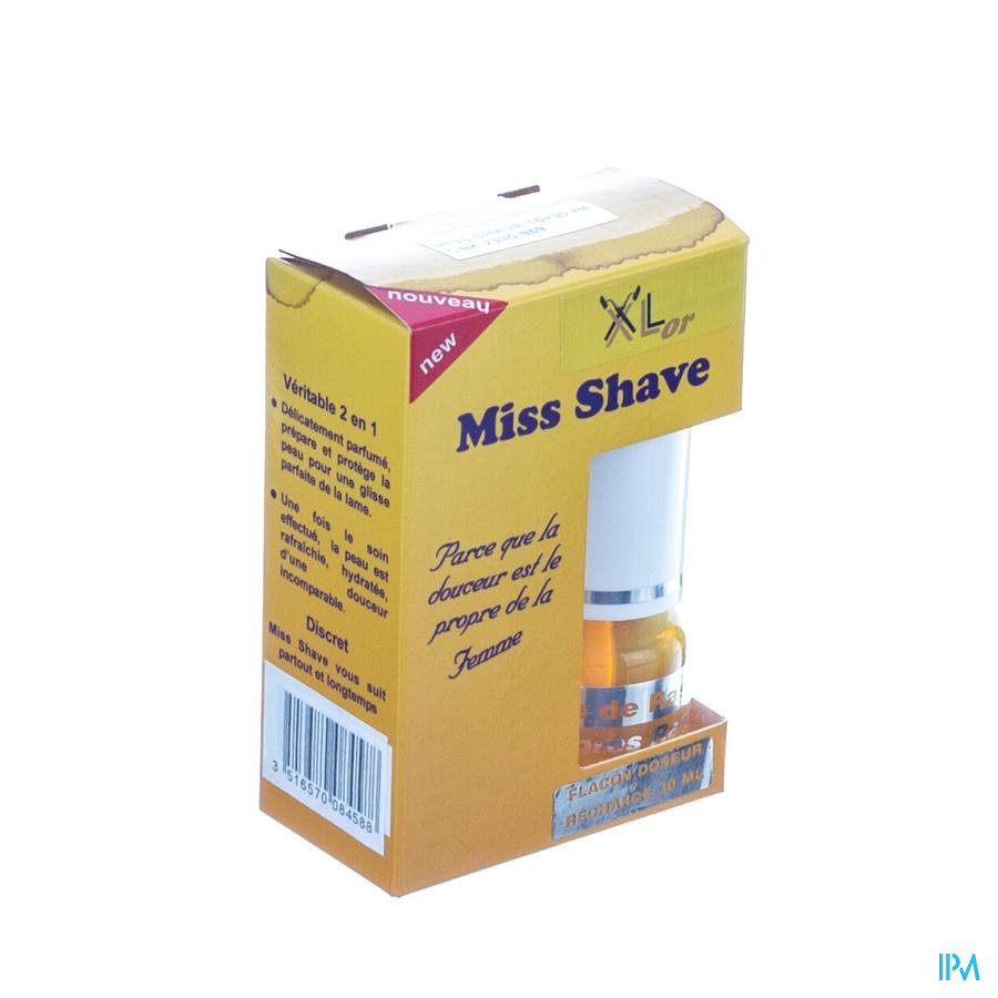 Xlor Miss Shave 2en1 30ml