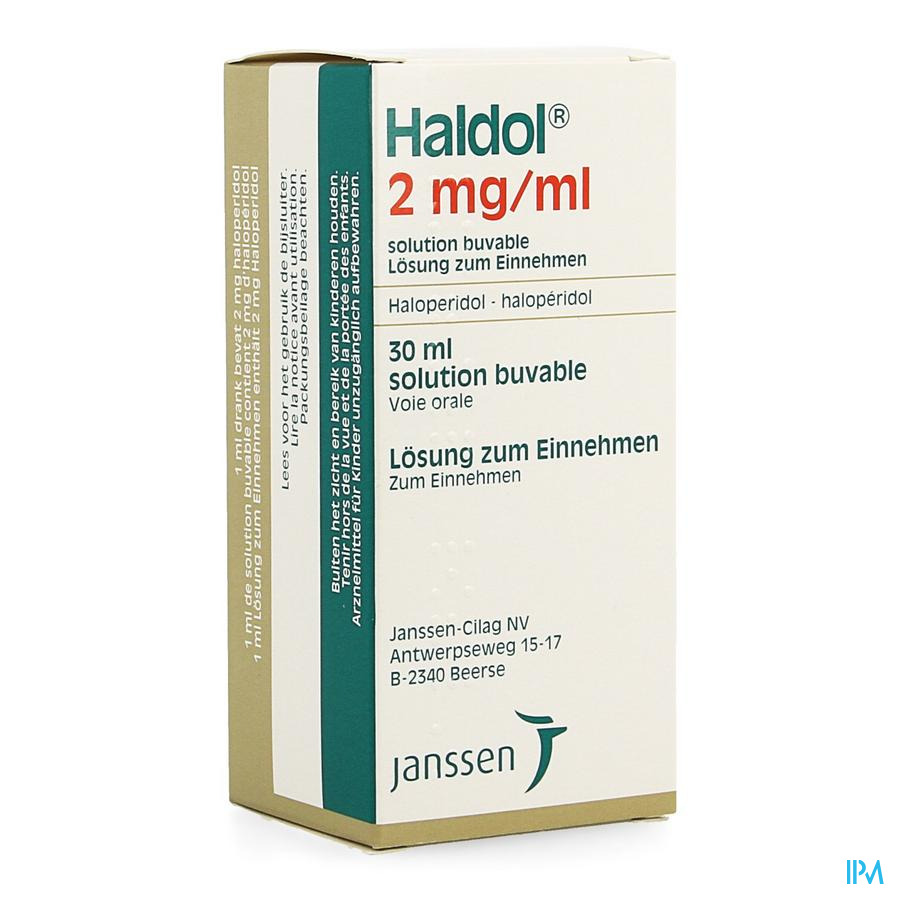 Haldol Gutt 1 X 30ml 2mg/1ml