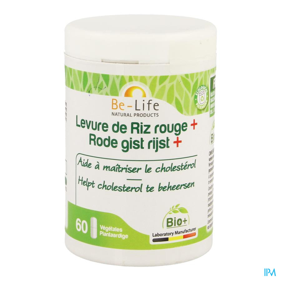 Gist Rode Rijst Bio Be Life Caps 60