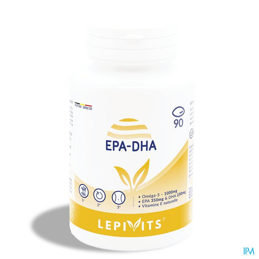 Lepivits Epa/dha+ Forte Caps 90