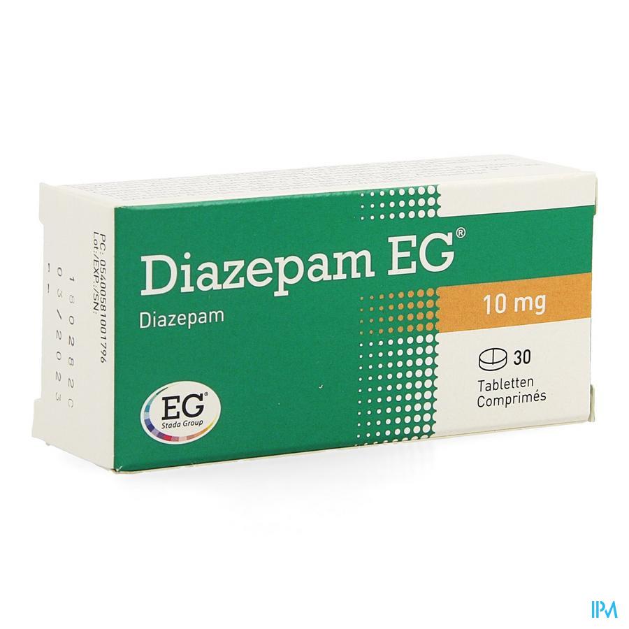 Diazepam Eg Comp. 30 X 10mg