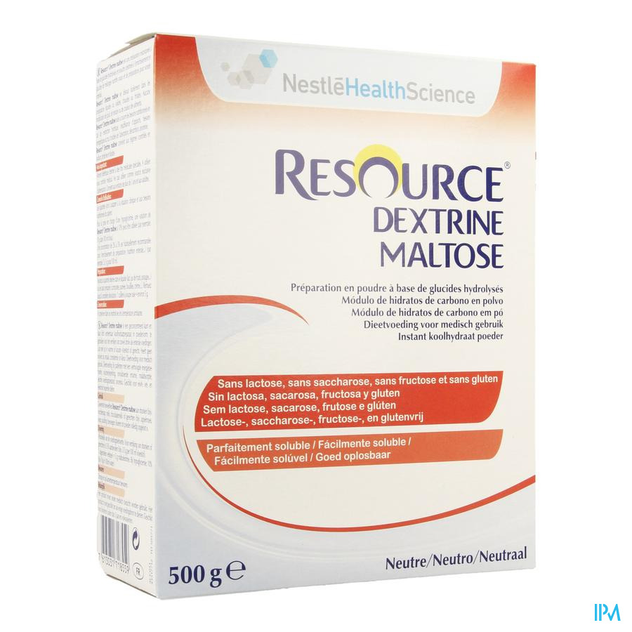 Resource Dextrine Maltose Poeder 500 gr 12061029