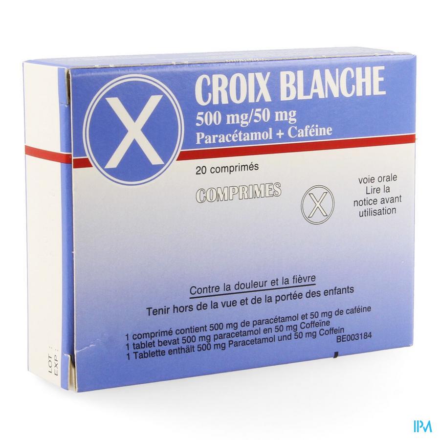 Croix Blanche Comprimes 20