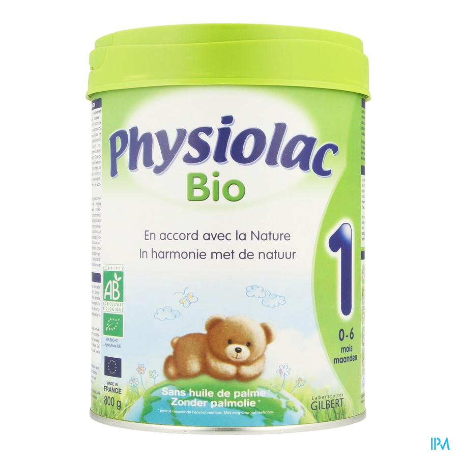 Physiolac Bio 1 Poedermelk 800g