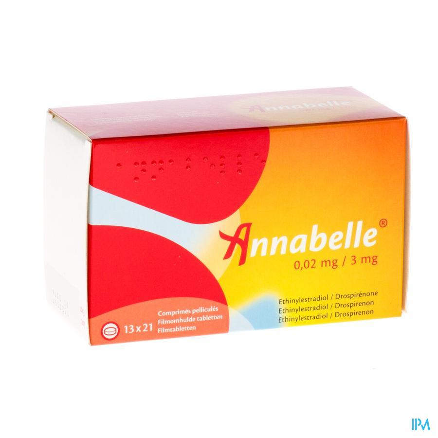 Annabelle 0,02 mg/3 mg Tabletten 13 X 21