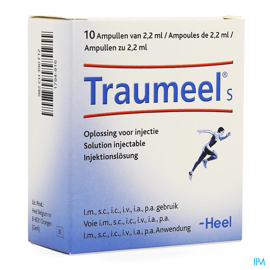 Traumeel S Amp 10x2,2ml Heel