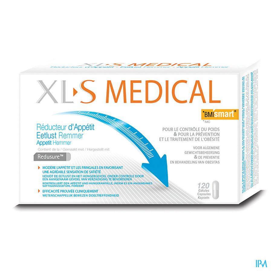 XLS MED. EETLUSTREMMER COMP 120