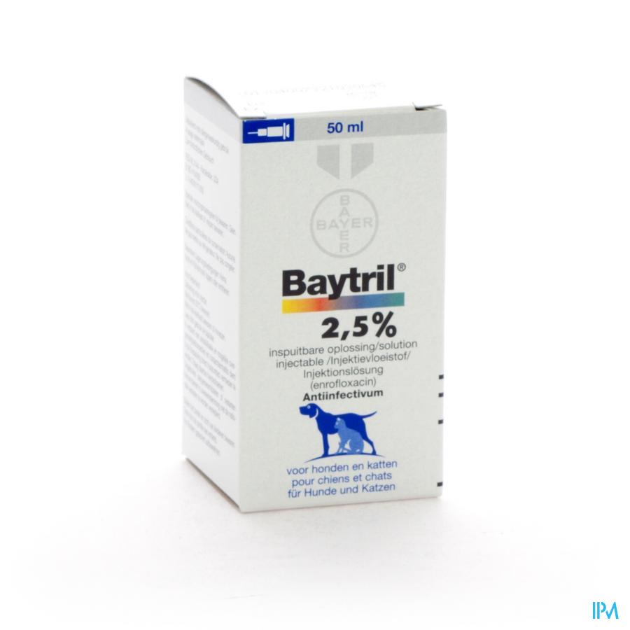 Baytril Sol Inj 2,5% 50ml
