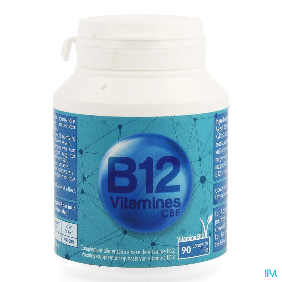 Vitamine B12 Cbf Zuigtabl 90