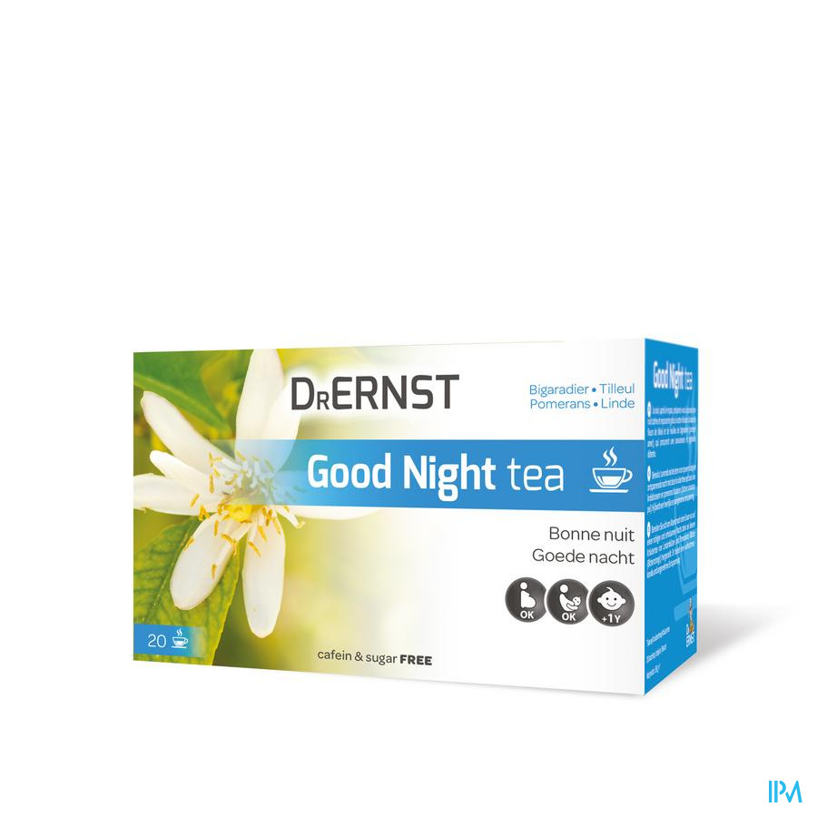 Dr Ernst Good night tea 20 Inf