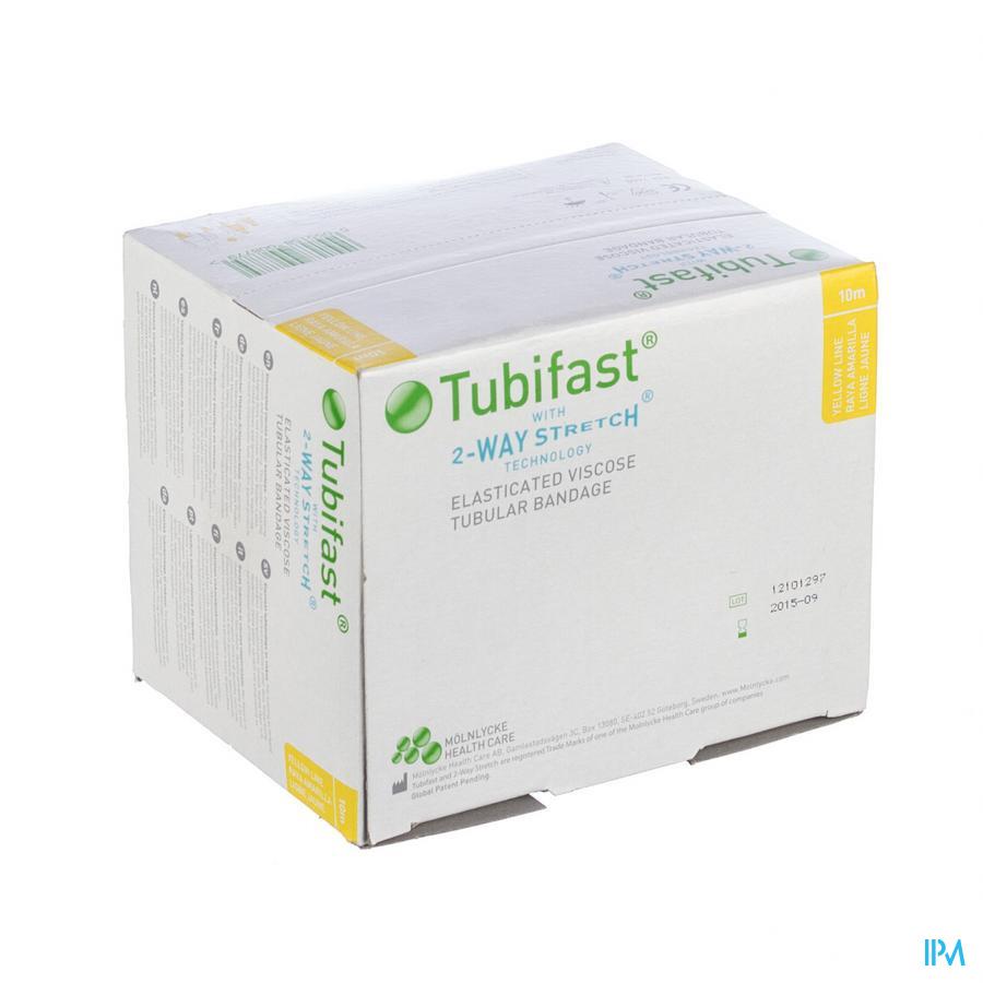 Tubifast Jaune 10,75cmx10m 1 2440