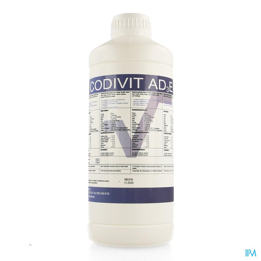 Codivit Ad3e Orale Oplossing 1l