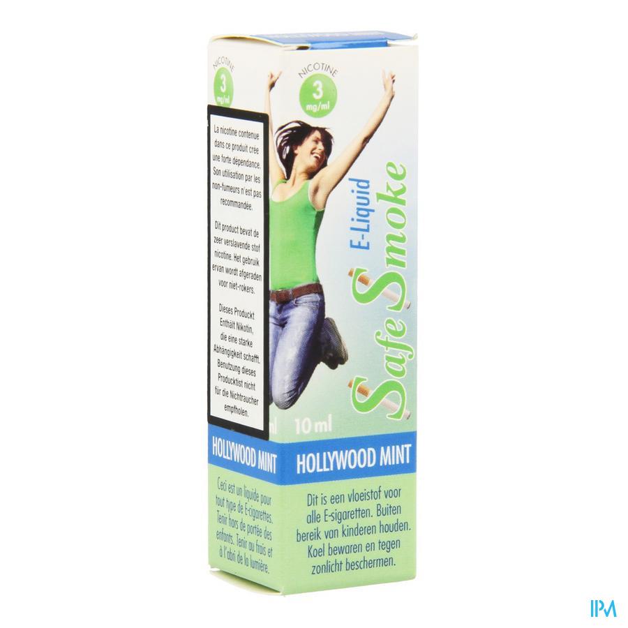 Safe Smoke E-liquid 3mg/ml Nicotine Mint 10ml