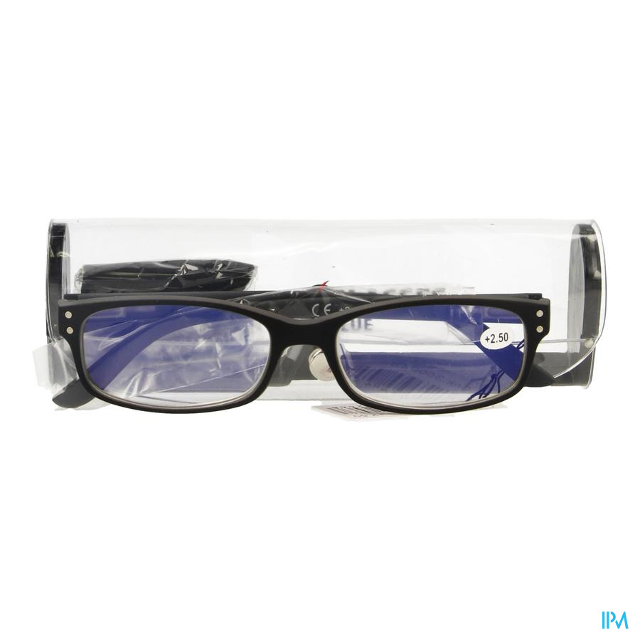 Pharmaglasses Visionblue Pc01 Leesbril +2.50 Black