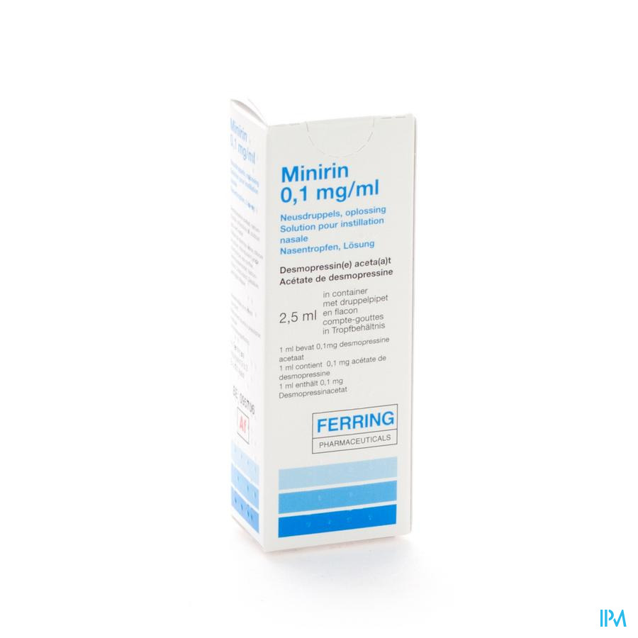 Minirin Sol Intranas.2,5ml O,1mg/ml