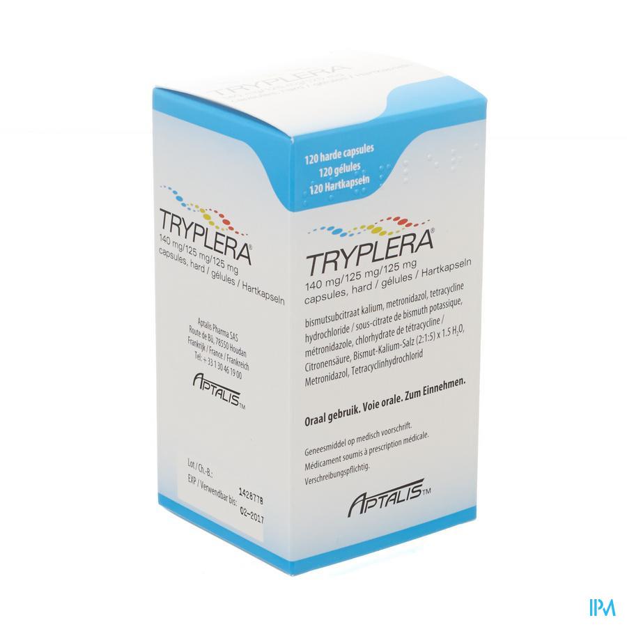 Tryplera 140mg/125mg/125mg Caps 120