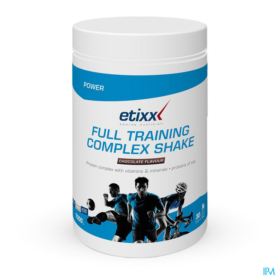 Etixx Full Training Chocolate Pdr 1000g