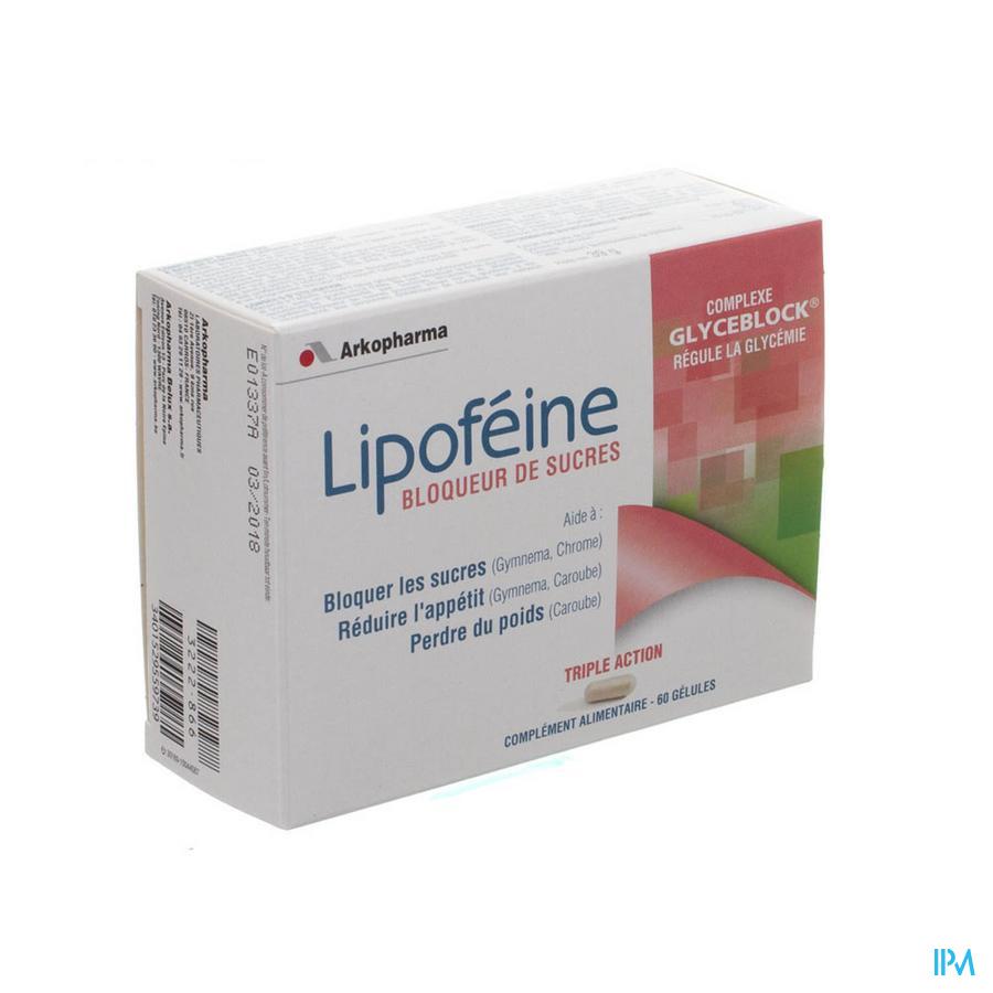 Lipofeine Bloqueur De Sucre Caps 60