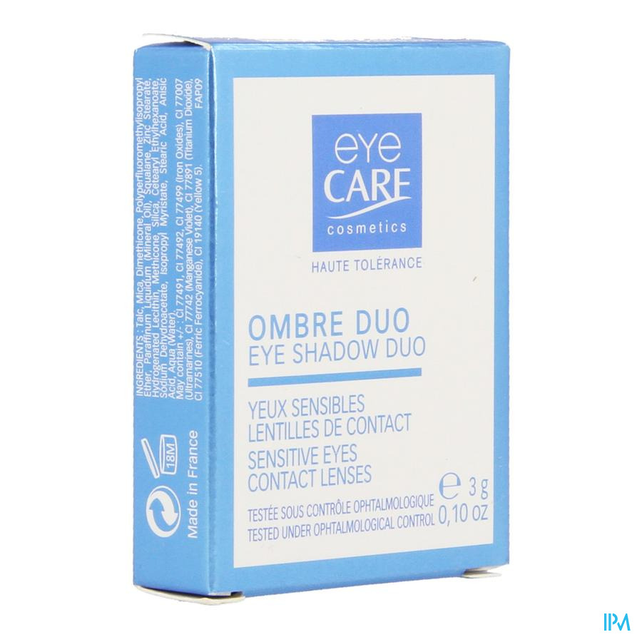 Eye Care Oogschaduw Duo Aubergine-eglantine 00049