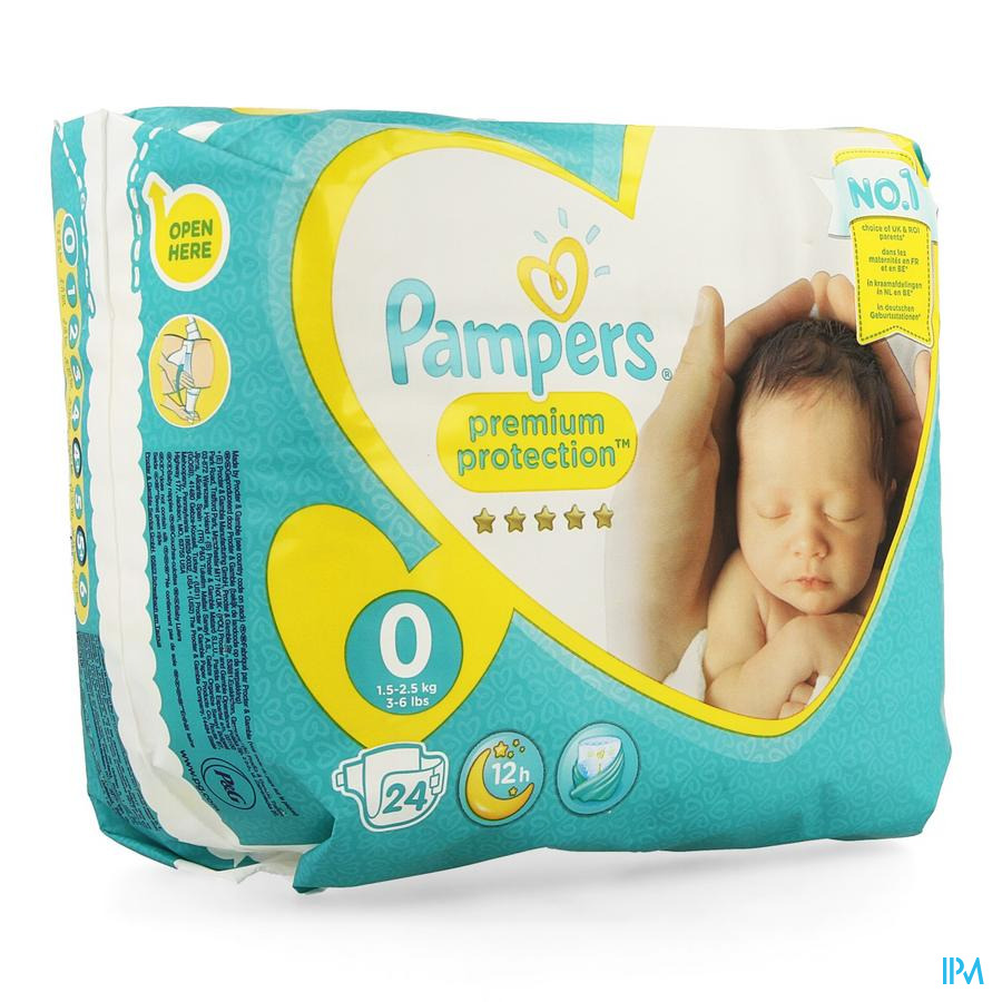 Pampers Micro Luiers 1x24