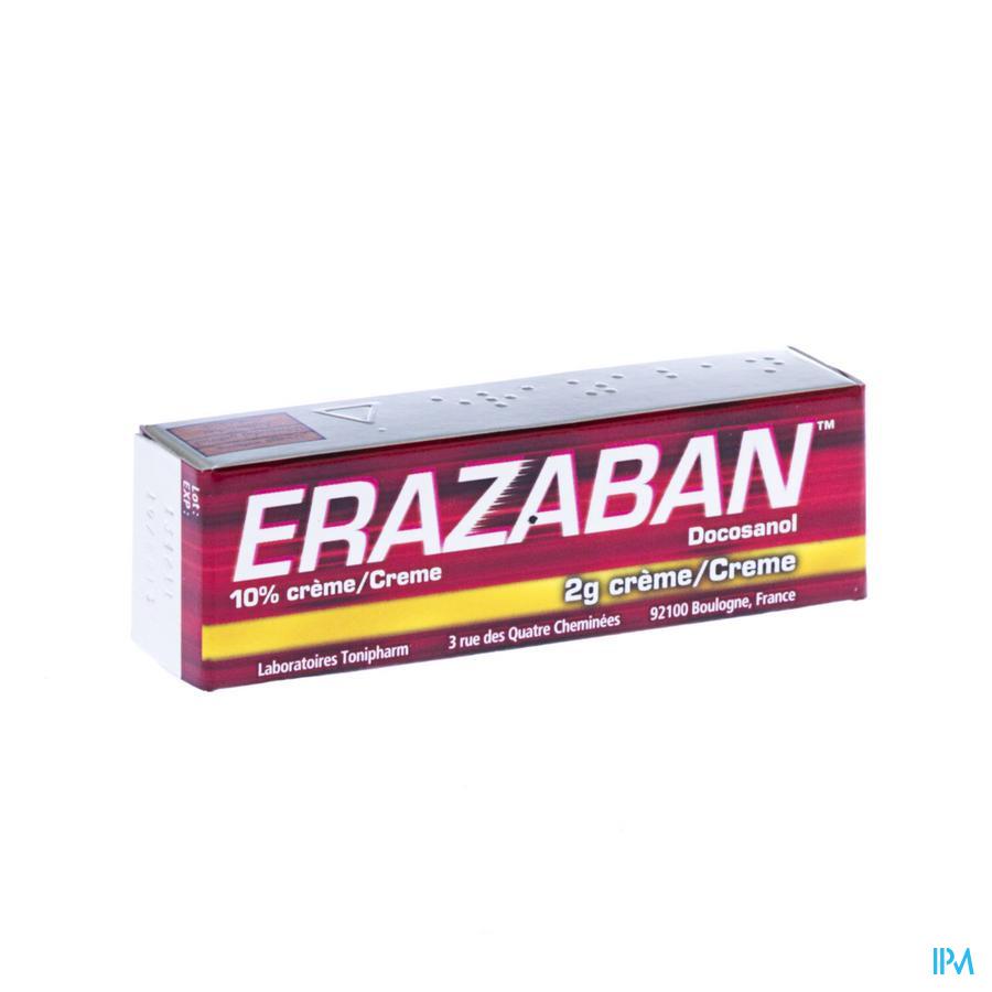 ERAZABAN CREME 10% 2G