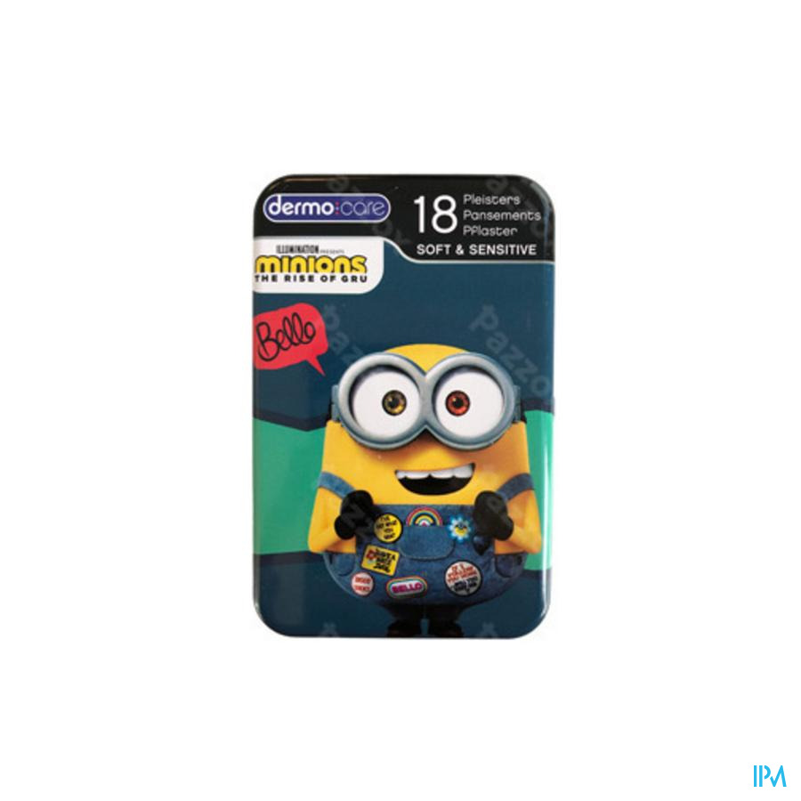 Dermo Care Soft&sensitive Minions Pleist.strips 18