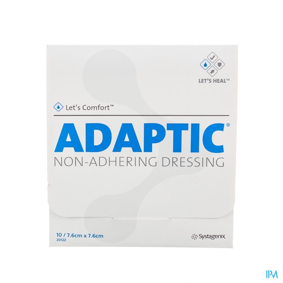 ADAPTIC KP DOORDR.    7,5X 7,5CM 10 2012Z