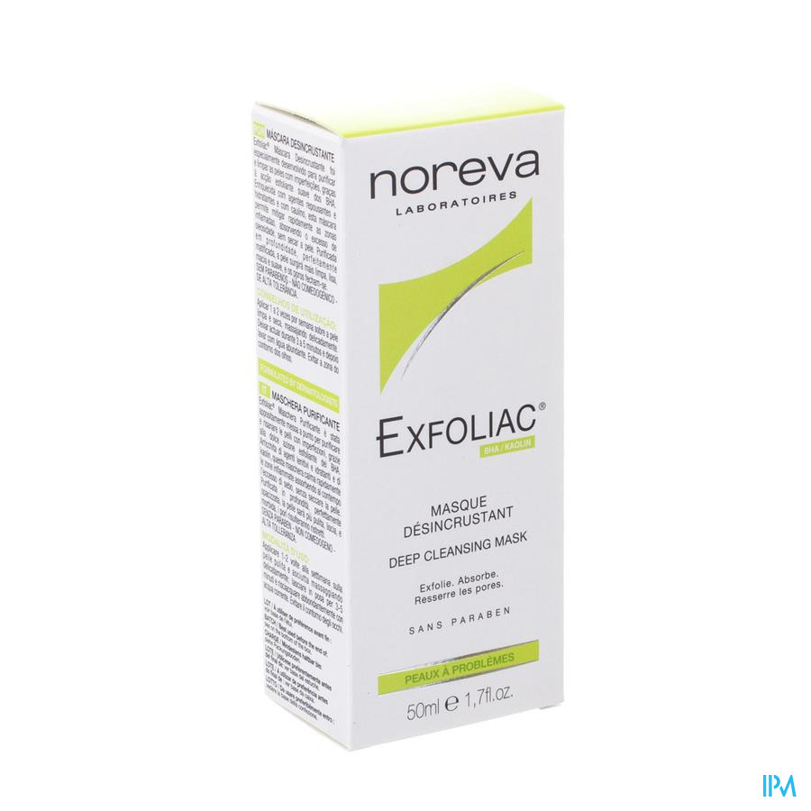 Exfoliac Masque Desincrustant Tube 50ml