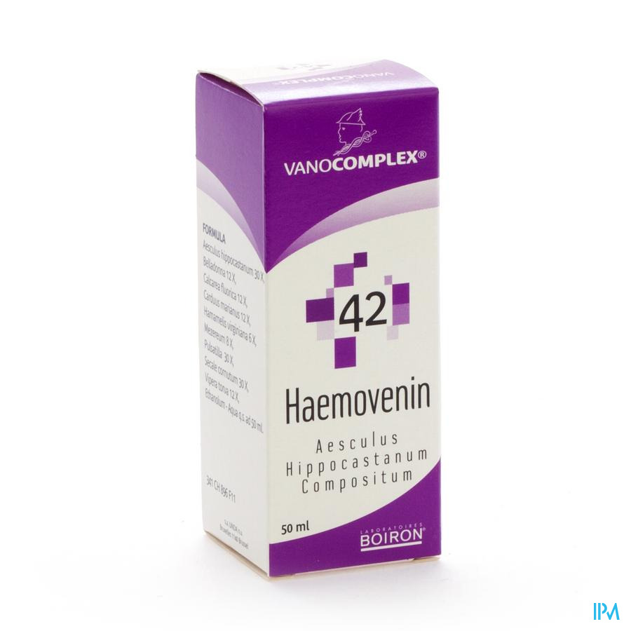 Vanocomplex N42 Haemovenin Gutt 50ml Unda